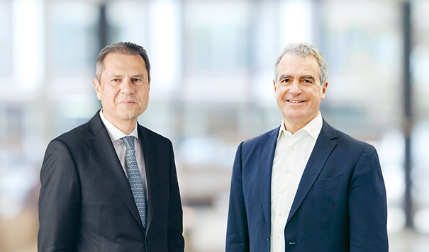 Dr Remo Lütolf and Dr Hans Brändle